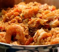 Jambalaya w/ Turkey Sausage, Chicken and Shrimp